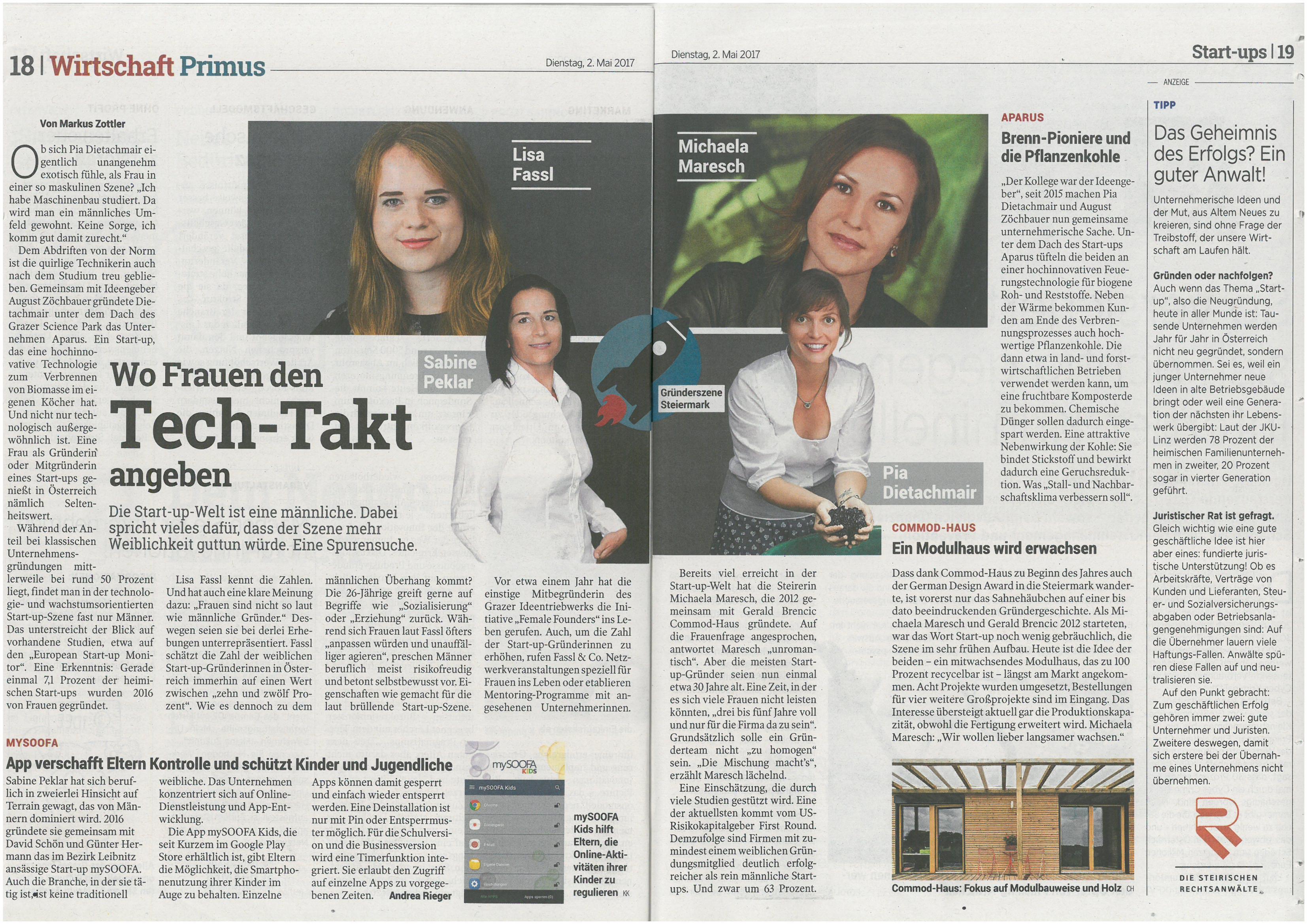 Interview Der Kleinen Zeitung Commod House