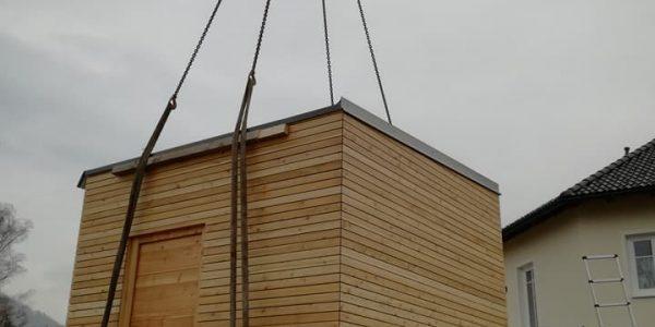 Sauna, Carport, Loggia
