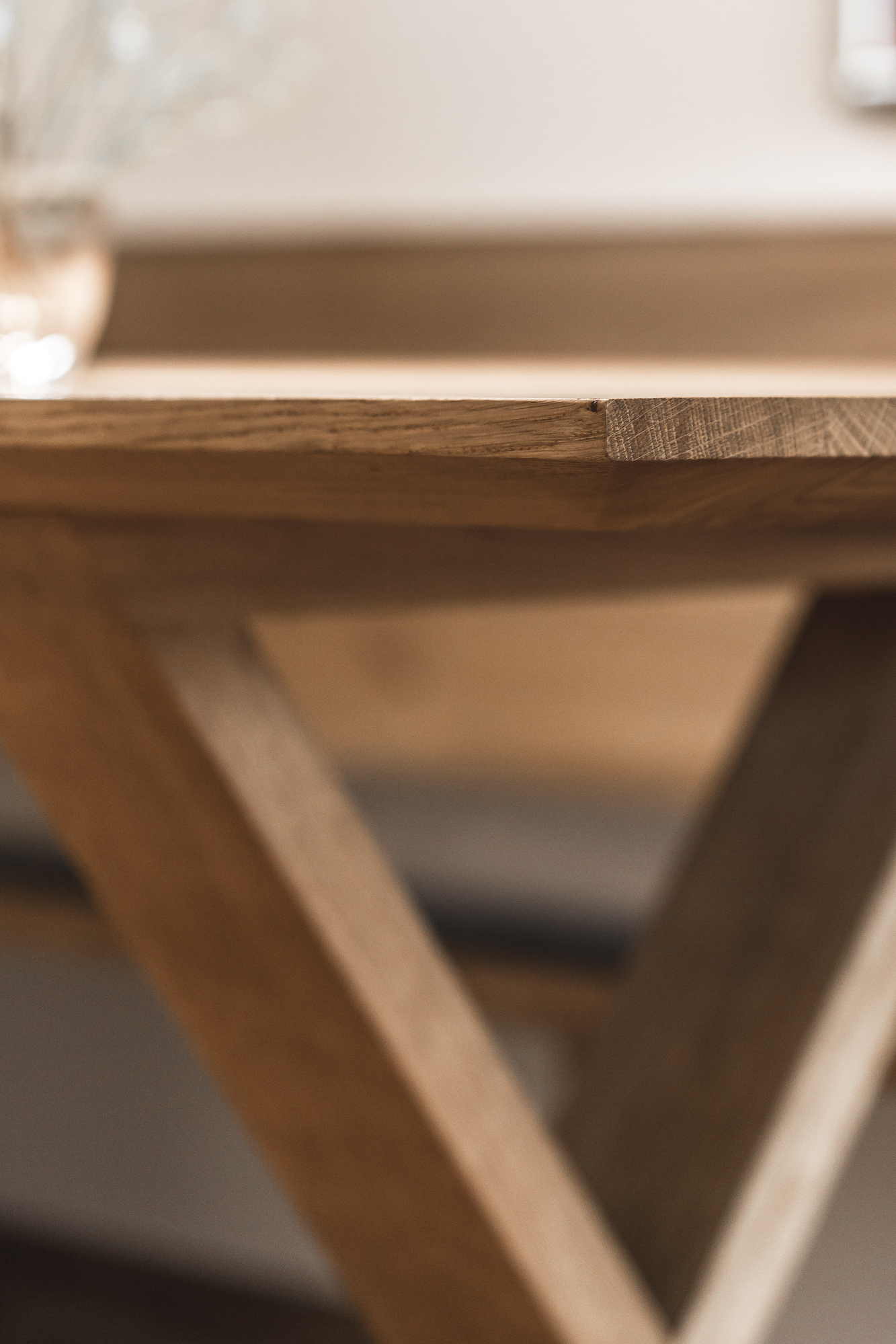 table & bench by COMMOD