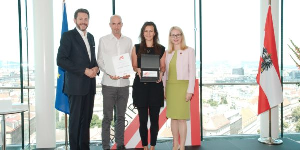 COMMOD HOUSE erhält Auszeichung als Born Global Champion (WKÖ)