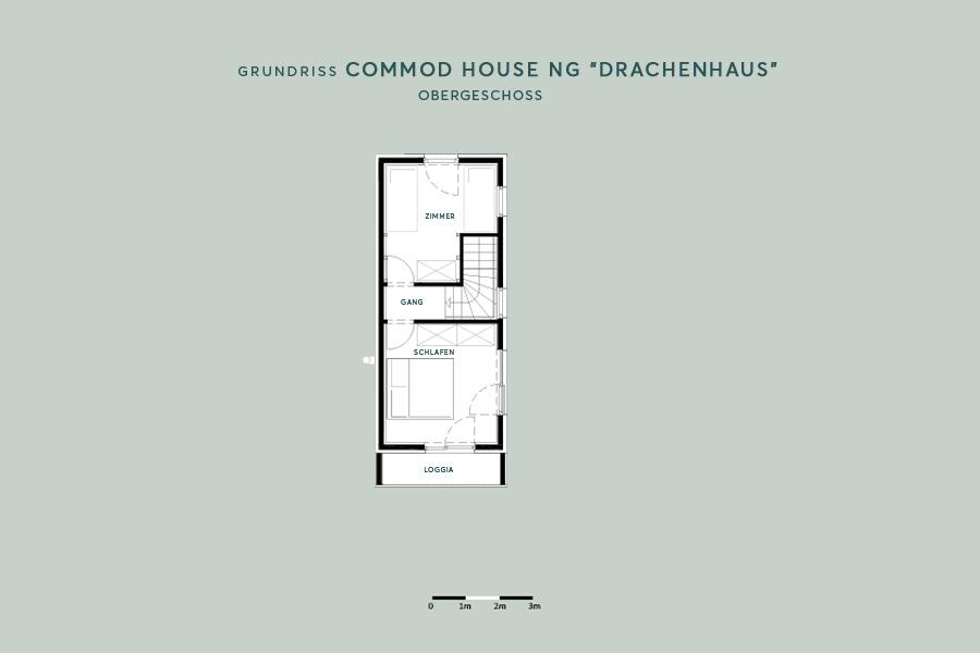 "COMMOD HOUSE NG ""Drachenhaus"" 80m² BGF"