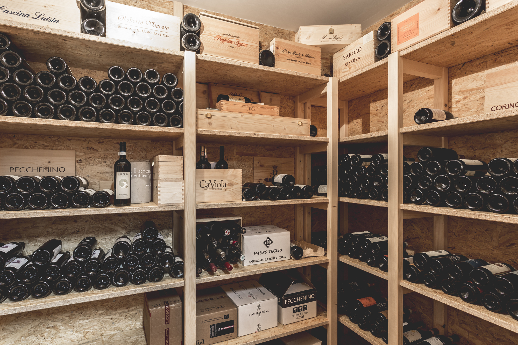 Wine Storage Module by COMMOD