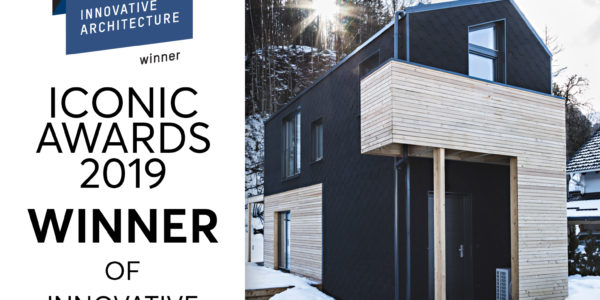 ICONIC AWARD 2019 INNOVATIVE ARCHITECTURE winner!
