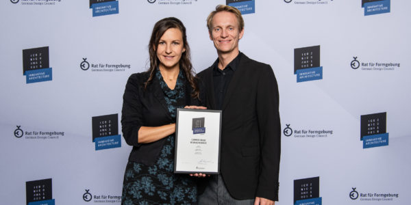 ICONIC AWARD 2019 INNOVATIVE ARCHITECTURE winner!