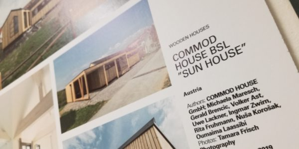 BIG SEE WOOD AWARD 2019 – 3 Awards for COMMOD HOUSE