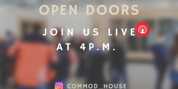 Virtuelle OPEN DOORS COMMOD HOUSE 13.03.2020