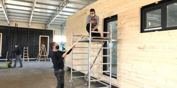 COMMOD HOUSE: Baustellen & Produktion in Zeiten von Corona