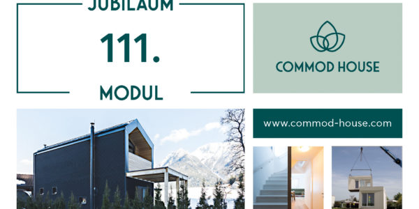 COMMOD HOUSE Jubiläum 111. Modul goes Vorarlberg!