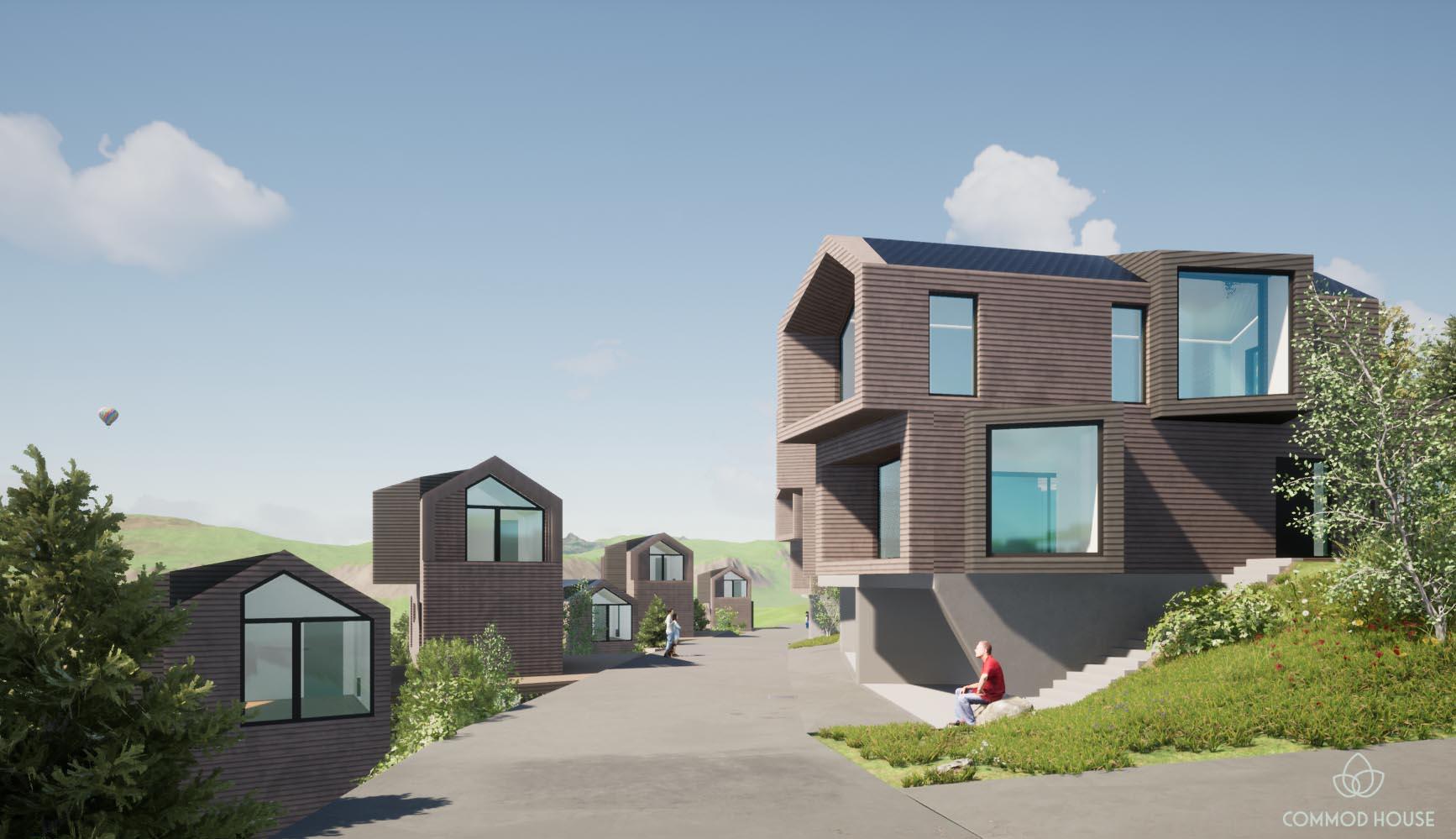 COMMOD HOUSE Luxury-Alm-Chalets Almgiraffe© & Bergschmetterling©