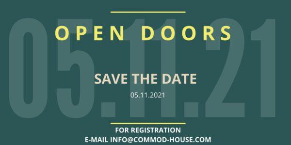 COMMOD HOUSE OPEN DOORS am 05.11.2021!